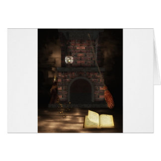 石造り暖炉 カード