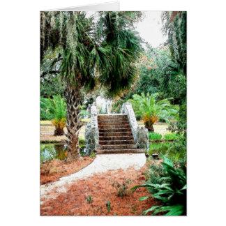 石造り橋都市公園ニュー・オーリンズ カード