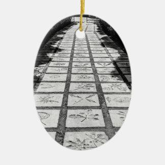 石造り道の細道 セラミックオーナメント