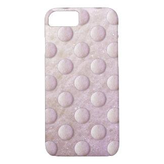 石鹸の泡の点1260Cのピンクか紫色 iPhone 7ケース