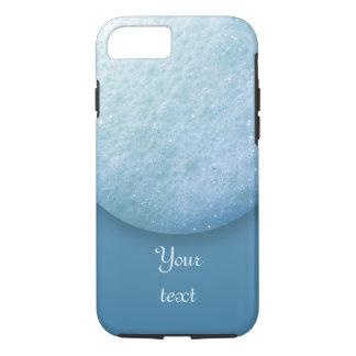 石鹸の泡の点1260Cの青 iPhone 7ケース