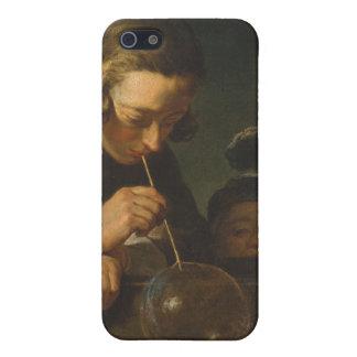 石鹸の泡-ジーンSiméon Chardin iPhone 5 Cover