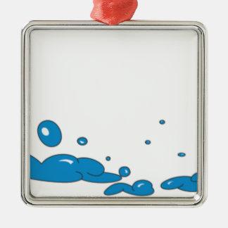 石鹸の泡 メタルオーナメント