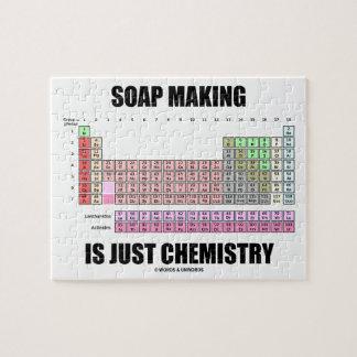 石鹸作成はですちょうど化学(周期表) ジグソーパズル