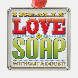 石鹸愛顔 メタルオーナメント