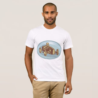 石鹸箱のダービー車メンズTシャツ Tシャツ