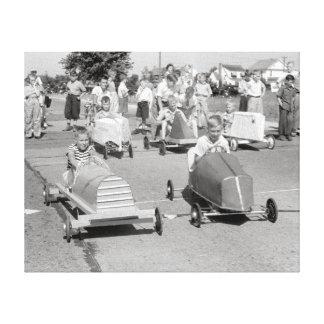 石鹸箱ダービー1940年 キャンバスプリント