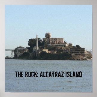 石: アルカトラズ島 ポスター