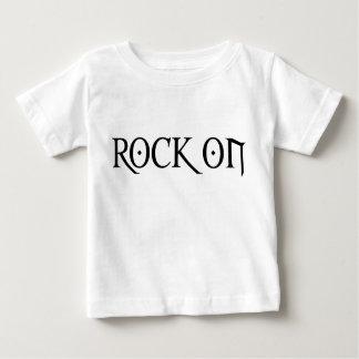 石 ベビーTシャツ
