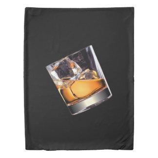 石(側面1)の対の羽毛布団カバーのウィスキー 掛け布団カバー