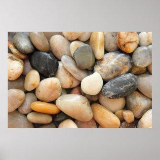 石、小石および石 ポスター