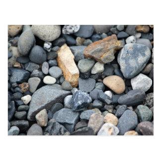 石、石および砂利 ポストカード