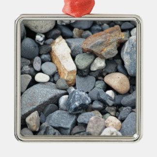 石、石および砂利 メタルオーナメント