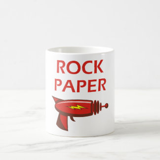 石、紙、光線銃 コーヒーマグカップ