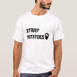 石 -- 臭いポテト Tシャツ