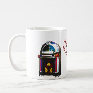 """石"""" n """"ロール50年代 コーヒーマグカップ"""