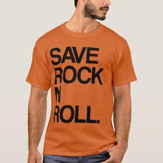 石Nロールを救って下さい Tシャツ