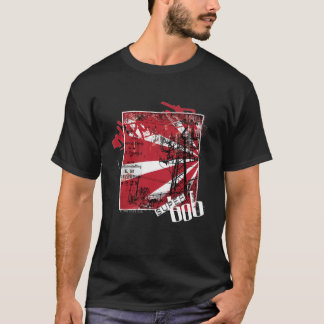 石nロールメンズ tシャツ