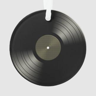 石nロールレコードのアルバム オーナメント