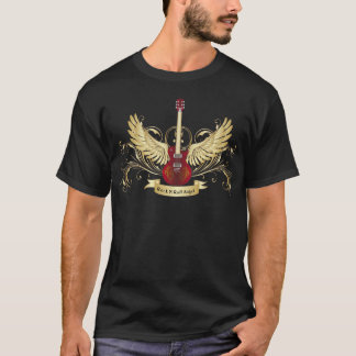 石nロール天使のTシャツ Tシャツ