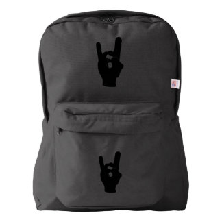石nロール悪魔の角 american apparel™バックパック