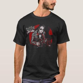 石nロール狂人のロカビリー tシャツ
