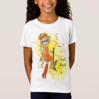 石Nロール素晴しい情報通のひよこ Tシャツ