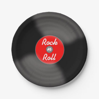 石Nロール記録的な紙皿 ペーパープレート
