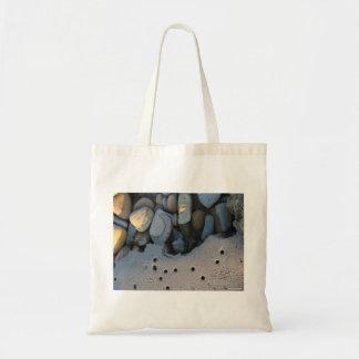 「砂および小石」のトートバック トートバッグ