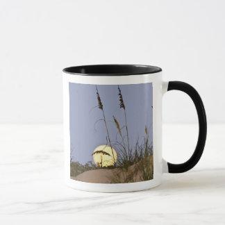 砂で育つ海のオートムギUniolaのpaniculata) マグカップ