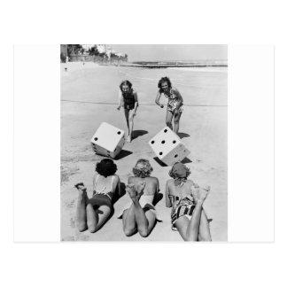 砂のがらくた、40年代 ポストカード