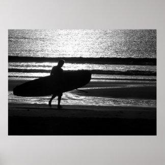 砂のサーファー ポスター