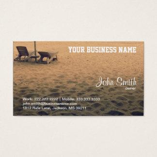 砂のビーチの名刺 名刺