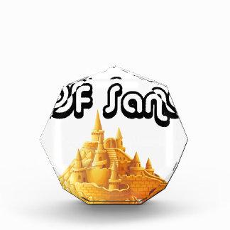 砂の城のBulider 表彰盾