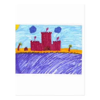 砂の城 ポストカード