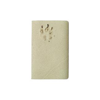 砂の子犬のプリント ポケットMoleskineノートブック