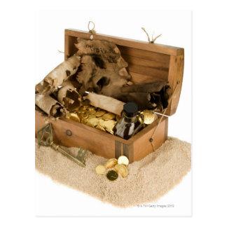 砂の宝物箱のレプリカを開けて下さい ポストカード