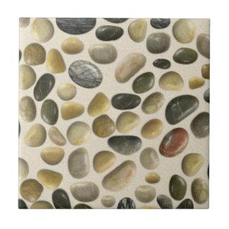 砂の小石 正方形タイル小