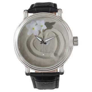 砂の腕時計のハート 腕時計