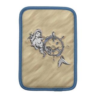 砂の銀製の人魚 iPad MINIスリーブ