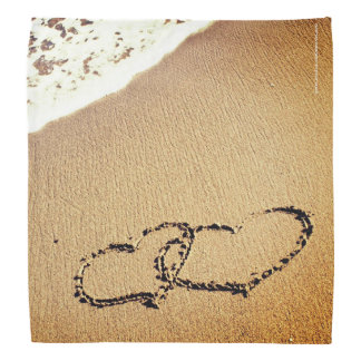 砂の2つのハート バンダナ