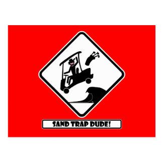 砂トラップDUDE-3 ポストカード