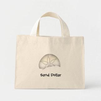 砂ドルのビーチのバッグ ミニトートバッグ