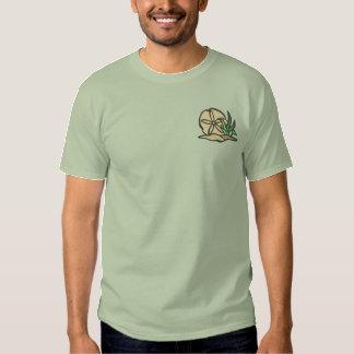 砂ドル 刺繍入りTシャツ