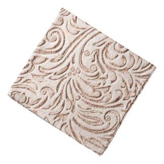 砂ベージュ色のヴィンテージの錫のタイルの一見 バンダナ