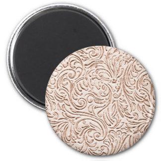 砂ベージュ色のヴィンテージの錫のタイルの一見 マグネット