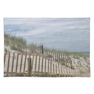 砂丘およびビーチの塀 ランチョンマット