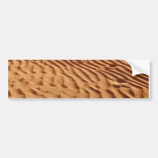 砂丘のバンパーステッカー バンパーステッカー