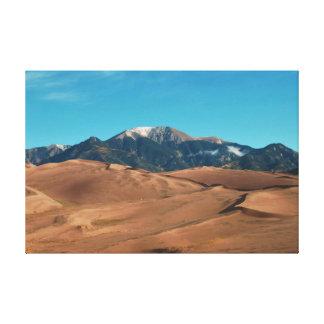 砂丘の夜明け キャンバスプリント