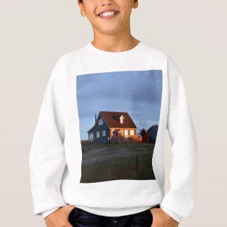 砂丘の後ろの家 スウェットシャツ